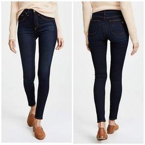 Rag & Bone High Rise Skinny Jeans Bedford